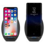 Оригинал Bakeey S6 10W QC3.0 Qi Держатель для мобильного телефона с зарядным устройством для iPhone X 8Plus Samsung S8 Note 8