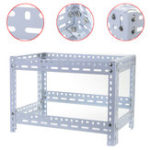 Оригинал 6/7/8 GPU Coin Open Air Mining Frame Rig Чехол Holder Steel Shelf Ethereum