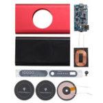 Оригинал Bakeey Qi Wireless Type C Micro USB Power Bank Чехол Батарея Коробка DIY Набор для iPhone 8 X Samsung S8