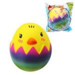 Оригинал SquishyShop яйца Игрушка цыпленка 8см медленно растет с подарком коллекции упаковки Soft Игрушка