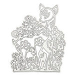 Оригинал 8.3×10.3cm Sika Deer Шаблон Scrapbooking DIY Альбомная книга Paper Diary Craft Maker Metal Cutting Die