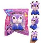 Оригинал Kiibru Galaxy Color Deer 11CM Slow Rising Soft Коллекция игрушек для подарков из натурального дерева Оригинальная упаковка