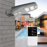 Оригинал Солнечная Powered PIR Motion Датчик 30LED Street Light Водонепроницаемы На открытом воздухе Стена Лампа с Дистанционный