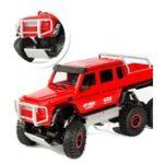 Оригинал FlytecRCАвто1/104CH6WD Rock Crawler 6×6 Вождение грузовик Двойные двигатели Big Foot Внедорожные модели Игрушки