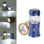 Оригинал 4В1КемпингТентСолнечная Фонарь USB аккумуляторная LED Фонарик факел ручной работы Лампа