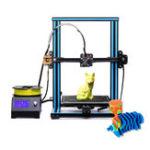 Оригинал RAISCUBE R10 Быстрая установка DIY Поддержка трехмерного принтера Поддержка печати / Двойная ось Z / 3 вентилятора охлаждения 240x300x300 мм Большая печ