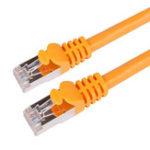 Оригинал Сетевой кабель Choseal Gigabit Ethernet Cat6 Двойная экранированная жилая витая пара RJ45 Патч Lan Cord