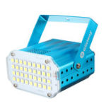 Оригинал 100-240V 10W 36 LED Stage Light Strobe Flash Проектор Для клуба Club Disco Bar KTV