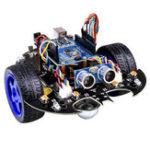 Оригинал YahBoom Smart Bat Robot Интеллектуальное программирование Bluetooth Controll Авто Набор с платой Arduino UNO R3
