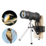 Оригинал 8-24×30ZoomМонокулярBAK4OpticОбъектив Телескоп для На открытом воздухе Travel Phone Shooting