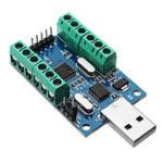 Оригинал Интерфейс USB 10 Канал 12Bit AD Сбор данных сэмплирования STM32 Коммуникация UART ADC