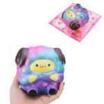 Оригинал SquishyShop Galaxy Sheep Lamb 12cm Sweet Soft Slow Rising Collection Подарочная игрушка для подарков