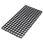 Оригинал Черная сетчатая изоляционная доска Divider Fish Tank Bottom Filter Tray Аквариум Изоляционная панель ящика