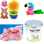 Оригинал Nororo Paper Clay 800ML SOFT Ultralight DIY Non-Toxic Non-Brushed Space Sand Kids Play Toy