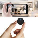 Оригинал XANESHDQ15Wifi1080P2миллиона пикселей 150 ° Широкоугольный круглый Mini камера Видеозапись APP Power Дисплей Обнаружение движения