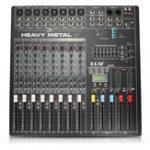 Оригинал EL M DJ800 48V DC 8-канальный профессиональный караоке KTV DJ Mixer с консолью эффектов DSP