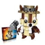 Оригинал LOZ Little Dinosaur Squirrel Building Block Set Collection Игрушечный образовательный подарок