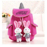 Оригинал Lace Color Canvas Rabbit Bag Backpack Shoulder bag For Women