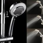 Оригинал KCASAKC-SH429Ручнаярегулируемаядушеваяголовка 3 режима SPA Pressureurized Filtered Ванная комната Душевая головка