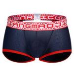 Оригинал Мужчины Сексуальный Mesh Breathable Wicking Low Rise Underwear Boxer