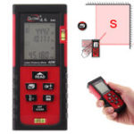 Оригинал 40m LCD Digital Лазер Дистанционный измеритель дальности Поиск диафрагмы Construct Измерение Инструмент