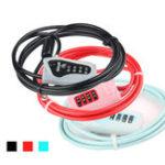 Оригинал GIYOL-032MПротивоугоннаясистема4-значный код Велосипедный кабель Замок для мотоцикл MTB Road Bike