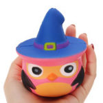 Оригинал Squishy Pumpkin Bird Slow Rising Toy Kids Fun Gift Party Decor Телефон Кулон