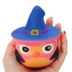 Оригинал Squishy Pumpkin Bird Slow Rising Toy Kids Fun Gift Party Decor Телефон Кулон