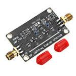 Оригинал RF Wideband Усилитель LNA 0.1M-2G Gain 60dB Двухступенчатое усиление