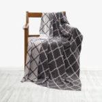 Оригинал ОригинальныйXIAOMIНочнойтеплыйзимнийхлопок Вязание Одеяло Двойной окрашенный ребенок Доступный домашний текстильный пода