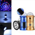 Оригинал 3В1ПортативныйКемпингТент LED Сценический фонарик Солнечная Перезаряжаемый USB-факел Аварийная ночь Лампа