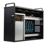Оригинал Mining Rig Miner Mining Machine Шасси Монтажная плата BTC IC6S, поддерживающая до 8 GPU