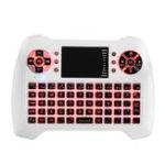 Оригинал Sungi T16 Три цвета с подсветкой 2.4G Беспроводной белый Mini Клавиатура Touchpad Air Мышь