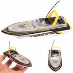 Оригинал ЭлектрическийRCРадиоДистанционноеУправлениеSuper Mini Speed Лодка Dual Мотор Kids Gift Toy