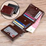 Оригинал НатуральнаяКожаЛицензиянаводительскиеправа для бизнеса 12 карт слот-кошелек