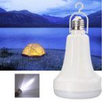 Оригинал E27 15W Белый LED Аккумуляторная интеллектуальная энергосберегающая аварийная лампа AC220V