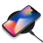 Оригинал USAMS Qi Wireless Desktop Quick Charger Pad for iPhone X 8 Plus Samsung S8 Note 8