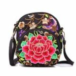 Оригинал Women National Style Flower Pattern Phone Bag