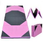 Оригинал 94.49×47.24×1.97inchСпортивнаягимнастикаСкладнойтренажерныйзал для тренировки Yoga Tumbling Фитнес Mat