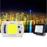 Оригинал 50W Белый свет LED COB Light Smart IC Chip Лампа для DIY Прожектор Прожектор AC220V