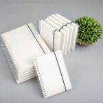 Оригинал A6 Спираль Coil Notebook To-Do Lined Dotted Blank Grid Paper Journal Дневник Sketchbook Школа Принадлежности