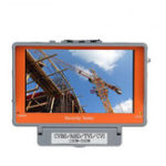 Оригинал EYOYO 4 В 1 наружном 5Inch CVBS / AHD / TVI / CVI CCTV камера Тест Дисплей Монитор Тестер Аудио PAL NTSC AHD
