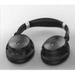 Оригинал JAZZA B6 АНК с шумоподавлением Авиационная складная Bluetooth Музыкальная гарнитура Стерео звук Наушники