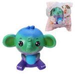 Оригинал Squishy Jumbo Elephant Galaxy Color Toy Slow Rising Soft Подарочная упаковка для животных Оригинальная упаковка
