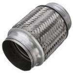 Оригинал Выхлопная труба Flex Pipe Трубка Двойная оплетка из нержавеющей стали 3 дюймов X 6 дюймов C Ends Flexi