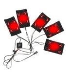 Оригинал 5шт. 65 ℃ Электрическая нагревательная панель 3 Регулируемая шестерня DIY Термобелье Подогреваемая одежда