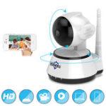 Оригинал Hiseeu FH2A Беспроводной IP 720P Security камера Аудиозапись Mini Baby Монитор CCTV камера