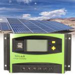 Оригинал 40A 12V / 24V Auto Wind Солнечная Контроллер зарядки энергии LCD Дисплей Домашнее улучшение