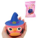Оригинал PU Медленная сова игрушки Squishy медленно растет с подарком коллекции упаковки Soft Игрушка