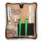 Оригинал 6.8-дюймовый салон Волосы Ножницы для резки Расческа-палочки Barber Набор